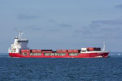 Finnish containership Marjatta Royalty Free Stock Photography