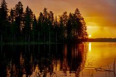 Finnish Dawn Stock Photos