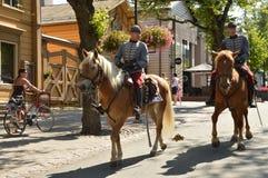 Finnish dragoons Stock Photography