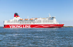 The Finnish Ferry Viking Line Mariella royalty free stock image