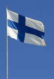 Finnish flag Stock Image