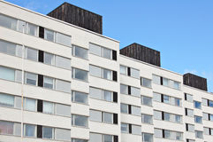Finnish flats Stock Photography