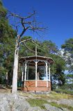 Finland: Gazebo in a Park Stock Photography