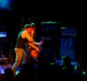 Finnish heavy metal band Parasite City live  Stock Photos