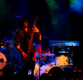 Finnish heavy metal band Parasite City live Stock Photo