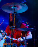 Finnish heavy metal band Parasite City live Stock Photography