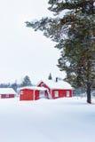 Finnish house Stock Photography