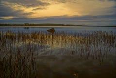 Finnish lake Stock Photos