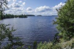 Finnish Lake Royalty Free Stock Photo