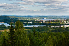 Finnish Landscape Royalty Free Stock Photo
