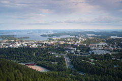 Finnish landscape of Kuopio Stock Photography