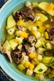Finnish meat and potatoes soup Royalty Free Stock Photography