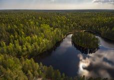 Finnish nature center Royalty Free Stock Photos