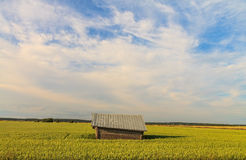 A finnish old barn -Country barn Royalty Free Stock Images