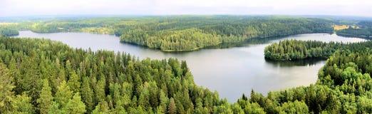 Finnish panorama Royalty Free Stock Image