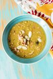 Finnish pea soup with smoked pork Stock Image