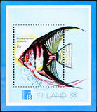 Finnish postage stamp Stock Photos