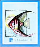 Finnish postage stamp Stock Photos
