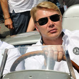 Finnish racing driver Mika Pauli H�kkinen Stock Photography
