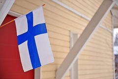Finnish real estate. Stock image Royalty Free Stock Image