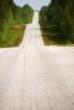 Finnish road in spring Royalty Free Stock Images
