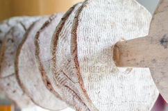 Finnish rye bread royalty free stock image