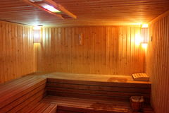 Finnish sauna Royalty Free Stock Photos
