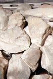 Finnish Sauna Rocks Royalty Free Stock Images