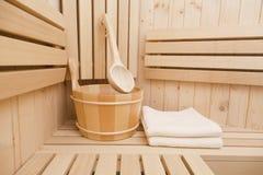 Finnish sauna Stock Photography