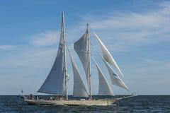 Finnish schooner Helena sailing Stock Image