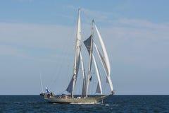 Finnish schooner Helena sailing royalty free stock images
