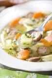 Finnish soup Stock Photos