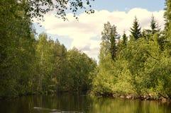Finnish Summer , Pihtipudas Stock Photos