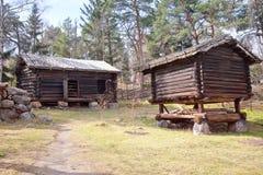 Finnish village Stock Photo