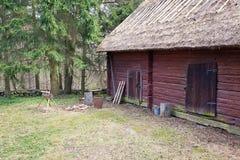 Finnish village Stock Photography