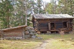 Finnish village Stock Images