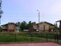 Finnish village on Solovetsky islands Royalty Free Stock Image