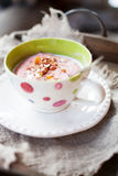 Finnish whipped porridge Royalty Free Stock Images