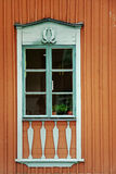 Finnish window Royalty Free Stock Image