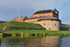 Finnland. Festung Hameenlinna Stockfotografie