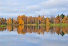 Finnland im Herbst lizenzfreie stockfotos