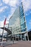 FINNLAND, JYVASKYLA - 18. AUGUST 2017: Modernes Gebäude von Innova lizenzfreie stockfotografie