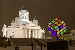 Finnland: LUX Helsinki Stockfoto