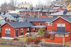 finnland Stadt Porvoo Stockfotografie