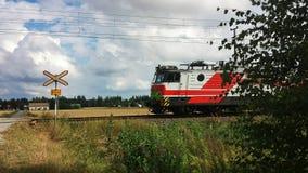 Finnland-Zug Lizenzfreies Stockbild