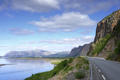 Finnmark, Norwegen Lizenzfreies Stockfoto