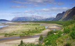 Finnmark, Norwegen Stockbild