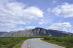 Finnmark, Norwegen Stockfotos