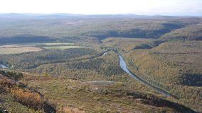 Finnmark-Panorama Lizenzfreies Stockfoto