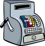 Fino a o clipart del fumetto del registratore di cassa Immagine Stock Libera da Diritti